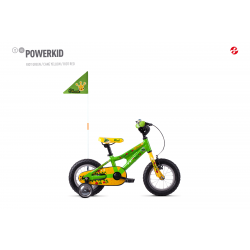 GHOST 2020  Powerkid 12 - Green / Yellow