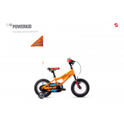 GHOST 2020  Powerkid 12 - Orange / Red