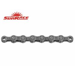 řetěz SunRace CNM54 6/7k 116čl. šedý