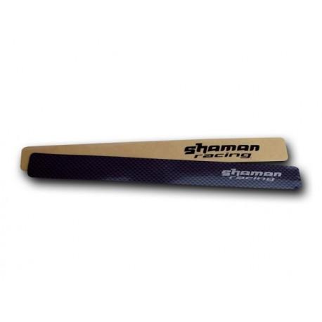 ochranná samolepka ShamanRacing pod řetěz karbon