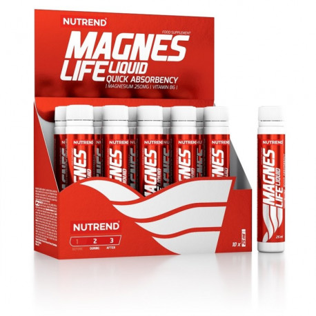 nápoj Nutrend MagnesLife 10x25ml