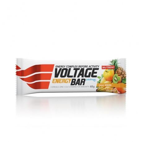 tyčinka Nutrend Voltage exotic 65g