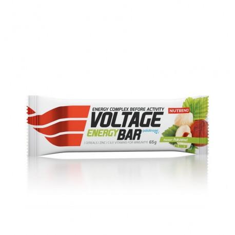 tyčinka Nutrend Voltage lískový ořech 65g