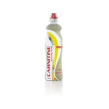 nápoj Nutrend CARNITINE with caffeine 750ml CITRON
