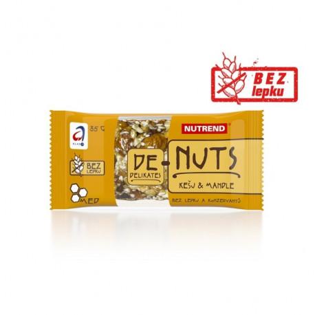 tyčinka Nutrend DeNuts kešu+mandle 35g