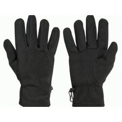 rukavice Progress BLOCKWIND GLOVES fleece zimní černé