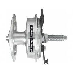 náboj Sturmey-Archer XL-SD letmý,bubnová brzda 90mm, RU osa levý