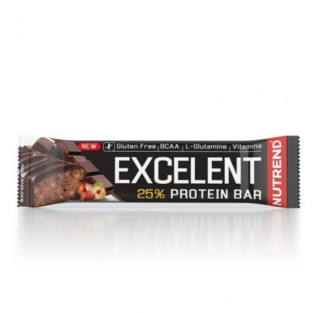 tyčinka Nutrend Excelent čokoláda+oříšky 40g