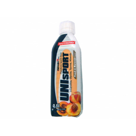 nápoj Nutrend Unisport 0.5l broskev+marakuja