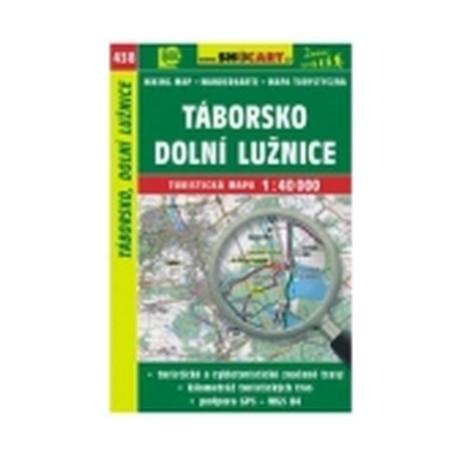 mapa cyklo-turistická Táborsko,Dol.Lužnice,438