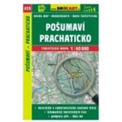 mapa cyklo-turistická Pošumaví,Prachaticko,439