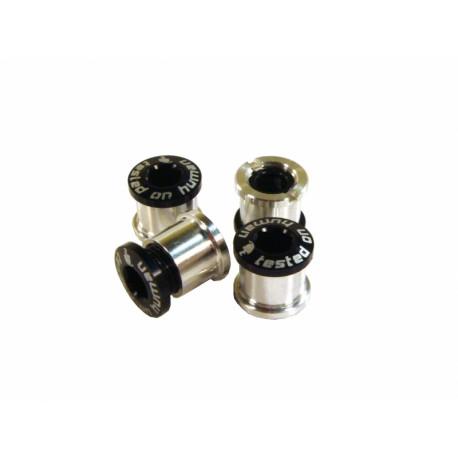 šrouby do převodníku ShamanRacing 8mm, 4ks černé