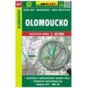 mapa cyklo-turistická Olomoucko,461