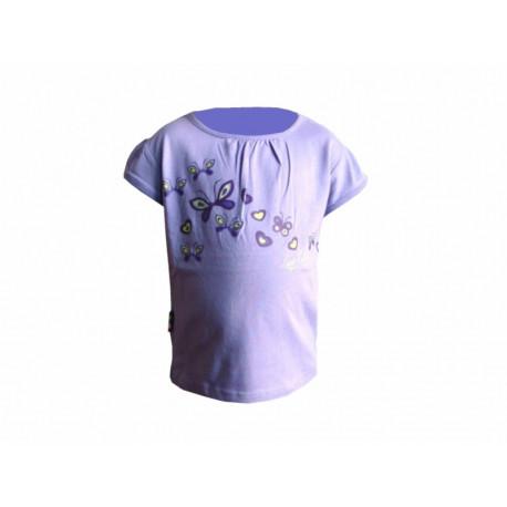triko krátké dětské LOAP ROJA fialové