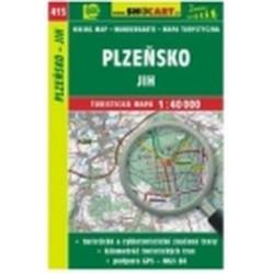 mapa cyklo-turistická Plzeňsko-jih,415