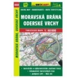 mapa cyklo-turistická Mor.brána,Oder.vrchy,468