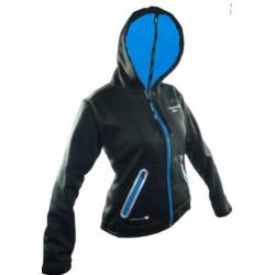 mikina dámská HAVEN THERMO-TEC černo/modrá