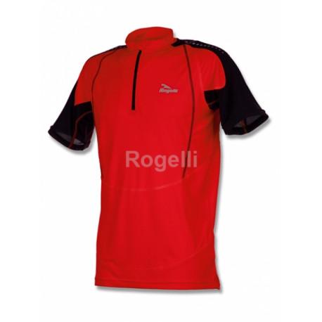 triko krátké pánské Rogelli ARES funkční červené