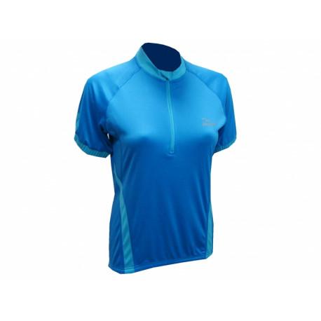 dres krátký dámský Rogelli CANDY tm.modrý