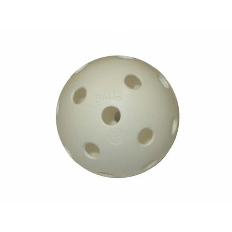 míček florbal necertifikovaný bílý