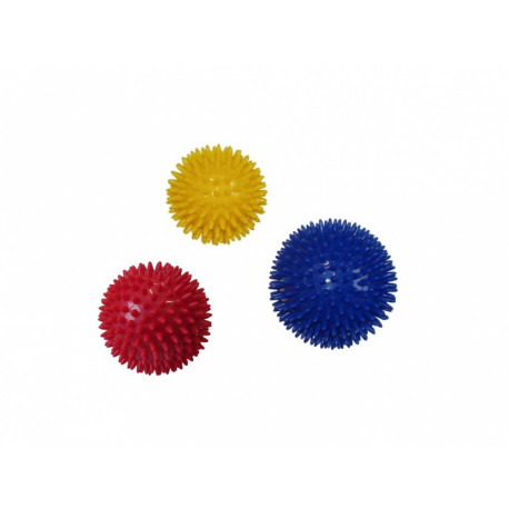 míček masážní ježek 7.5cm