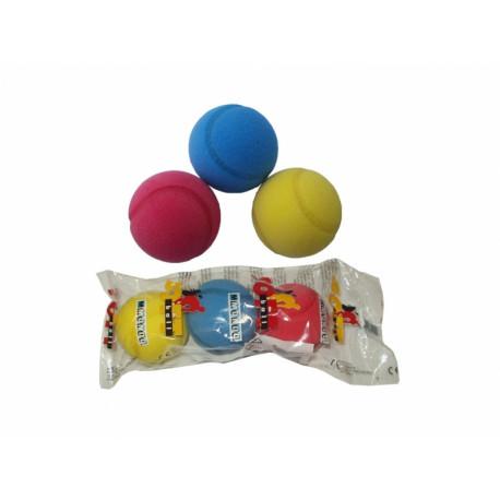míčky soft 70mm 3ks