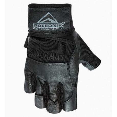 rukavice Poledník fitness MAXIMUS černé