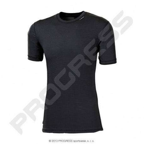 triko krátké pánské Progress MS NKR černé