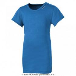 triko krátké dětské Progress DT MS NKRD stř.modré