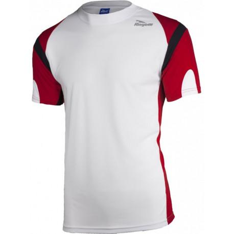 triko krátké pánské Rogelli DUTTON bílo/červené