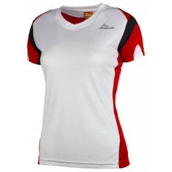 triko krátké dámské Rogelli EABEL bílo/červené