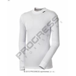 triko dlouhé pánské Progress MS NDR bílé