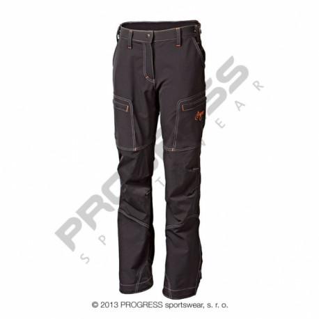 kalhoty dlouhé dámské Progress QUETTA zateplené černé
