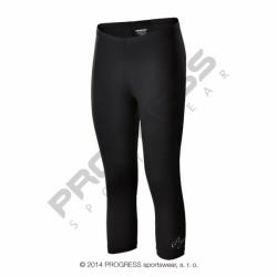 kalhoty 3/4 dámské Progress FLORIDA 3Q černé