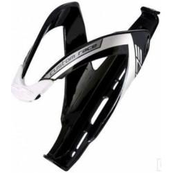 košík ELITE Custom Race Black glossy černý/bílý