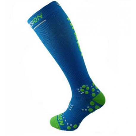 podkolenky HAVEN EvoTec Silver modro/zelené