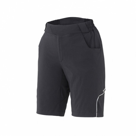 kalhoty krátké dámské Shimano Touring černé