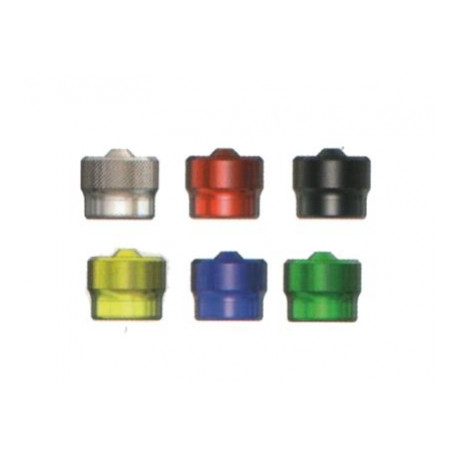 čepička ventilková kovová stříbrná 1ks