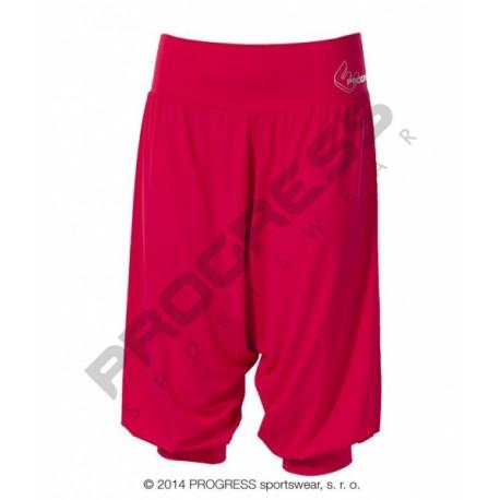 kalhoty 3/4 dámské Progress MILLA 3Q růžové