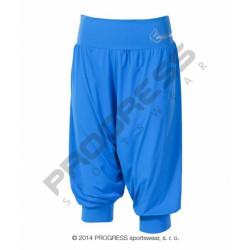 kalhoty 3/4 dámské Progress MILLA 3Q modré