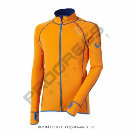 mikina pánská Progress TOREZ II oranžová