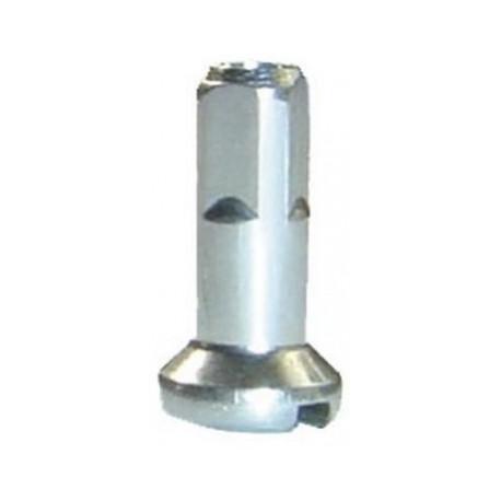 nipl CnSpoke Fe 2x14mm pozinkovaný stříbrný
