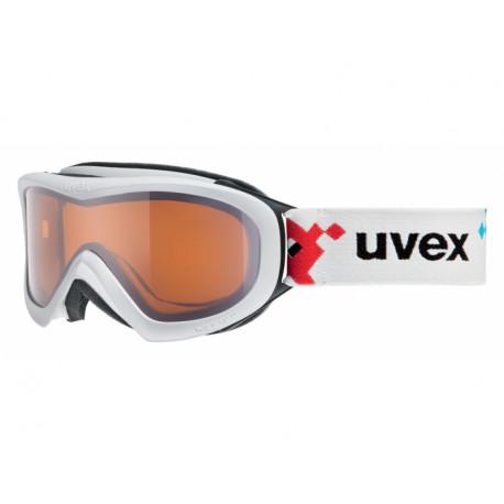 brýle lyžařské UVEX WIZZARD DL bílé/pacman