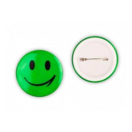 odznak reflexní Smajlík zelený