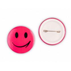 odznak reflexní Smajlík růžový