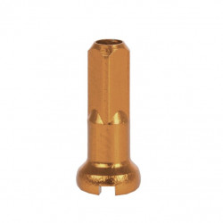 nipl CnSpoke Al 2x14mm anodizovaný  oranžový