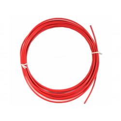 bowden brzdový 5mm 2P 10m červený role