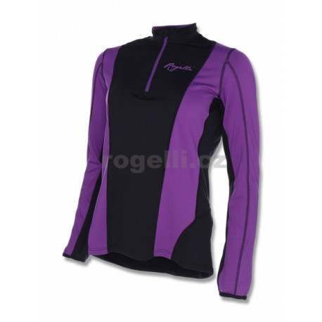 mikina dámská Rogelli SINEAD černo/fialová