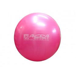 míč gymnastický 650mm růžový