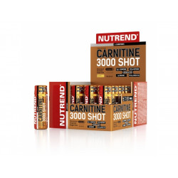 nápoj Nutrend Carnitine 3000 Shot 20x60ml jahoda
